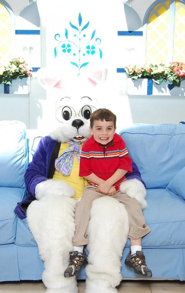Creepy Easter Bunny Photo -Smart Kid