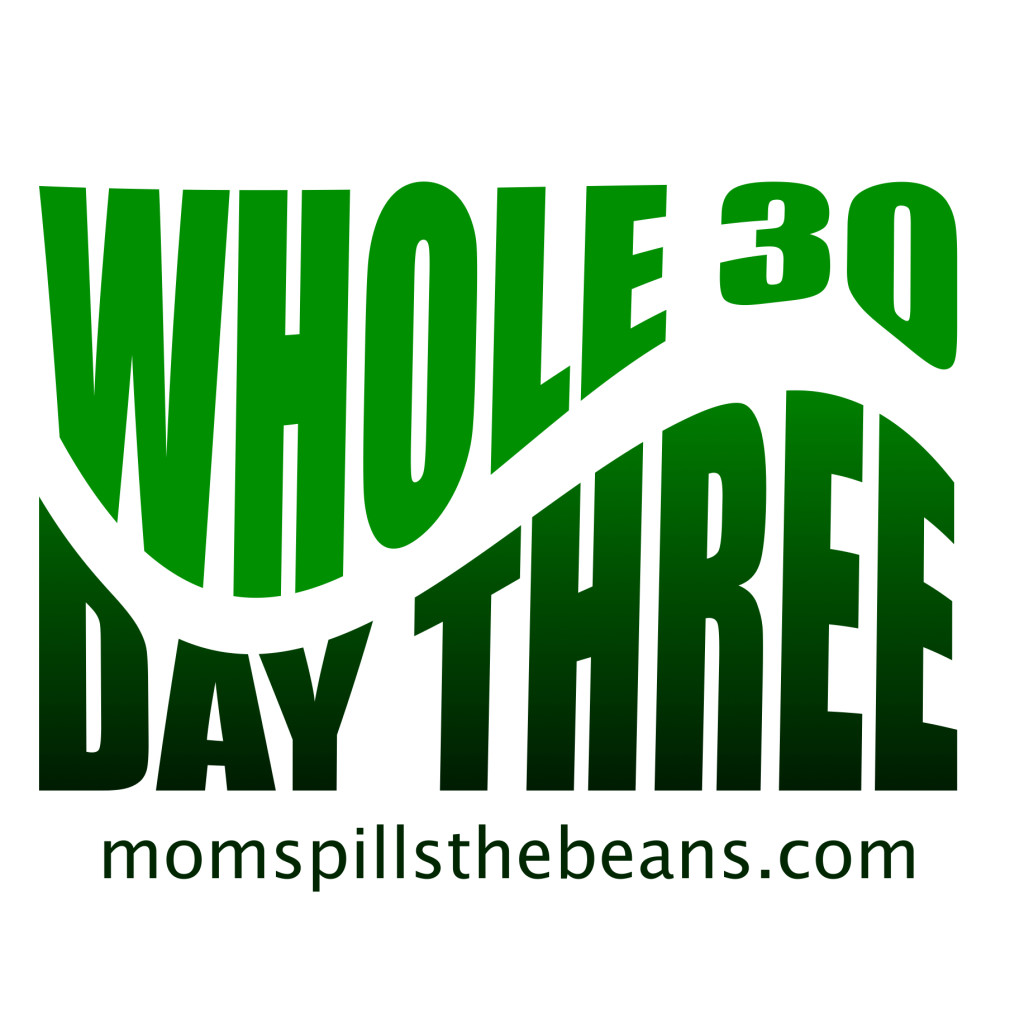 Whole 30 Day Three – Spilling the Beans on Dining Out