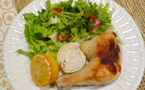 365 Days of Chalenge -Honey-lemon Chicken with Lebanese Inspired Salad